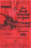 Reibert - Der Dienstunterricht im Heere. Ausgabe fur den Kanonier_tit